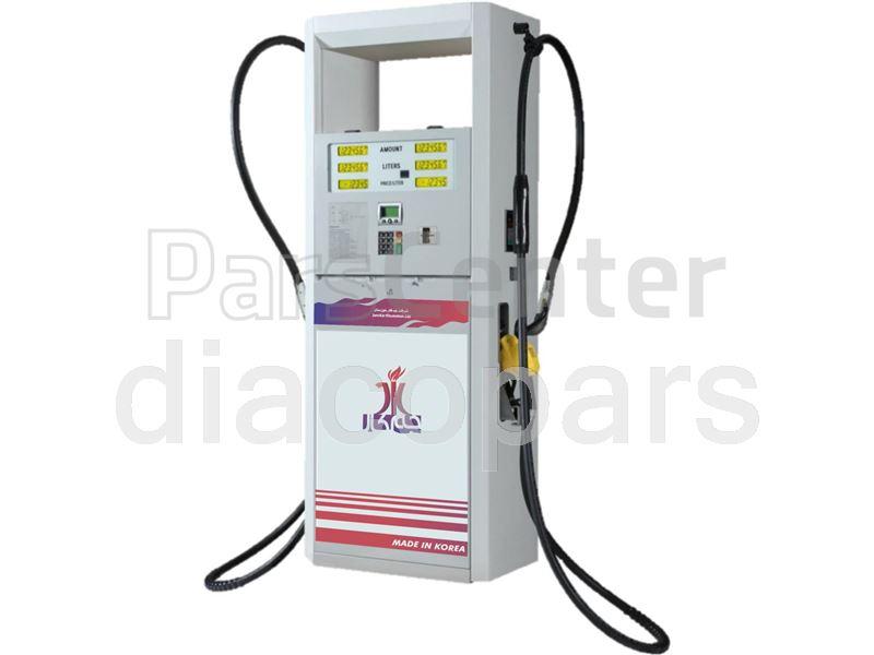 تلمبه دیسپنسر، قطعات وساخت جایگاه پمپ بنزین