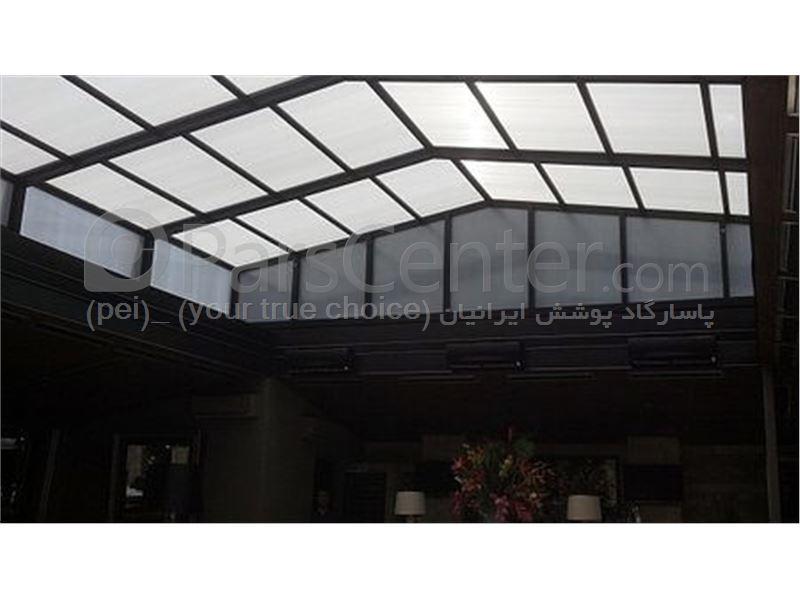 Building skylight_ نورگیر  متحرک سقف رستوران و کافی شاپ