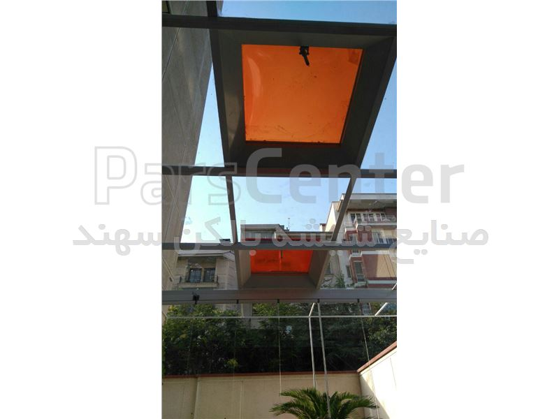 سقف شیشه ای سهند - محصولات نورگیر در پارس سنترسقف شیشه ای سهند ...