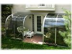 پوشش بالکن شیشه ای باطراحی زیبا