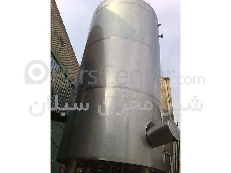 پروسس تانک  سه جداره شیر مخزن سبلان