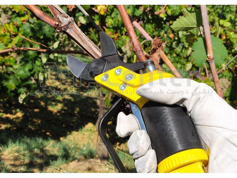 قیچی هرس باغبانی-قیچی هرس باغبانی پنوماتیک بادی مدل SLY DT
