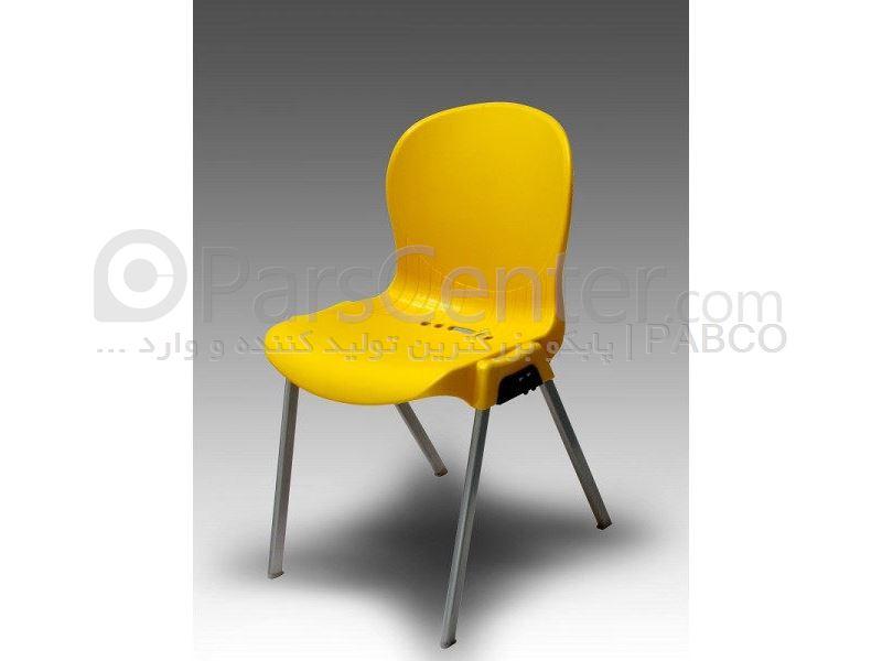 صندلی پلاستیکی پایه فلزی 980