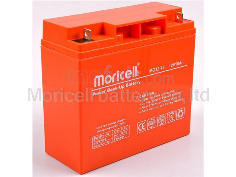 Moricell battery 12v 18Ah