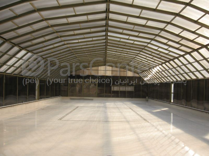 Auditorium and conference hall - Industrial hall - تالار باغ عروسی 1