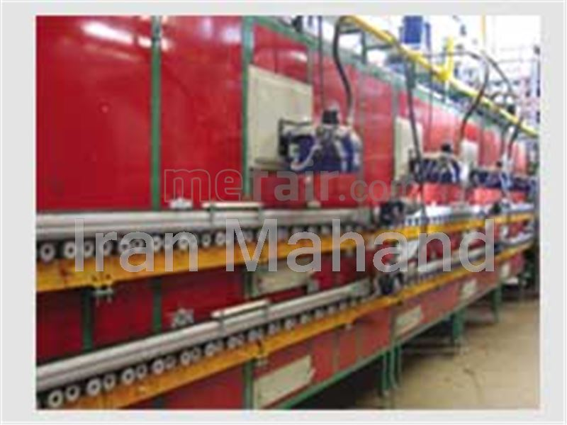 Horizontal roller dryer