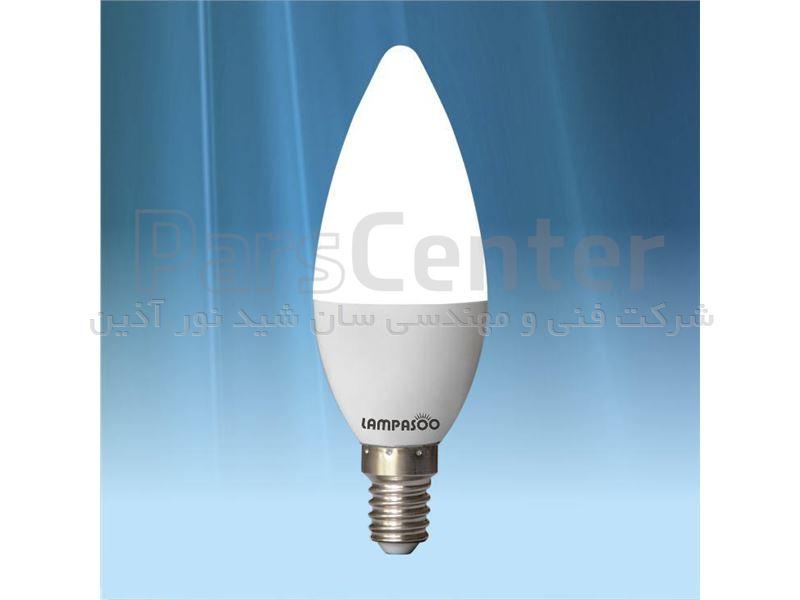 لامپ LED شمعی 6 وات