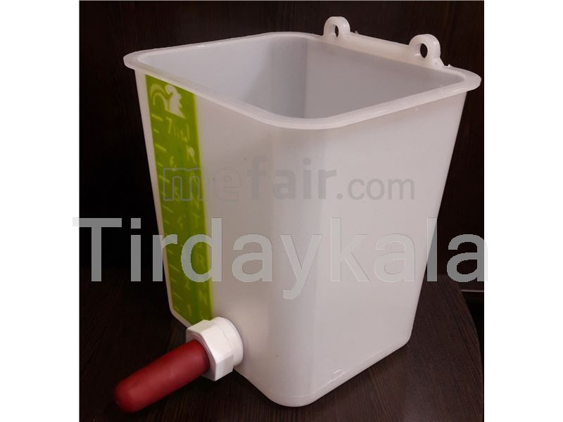 Calf milk bucket