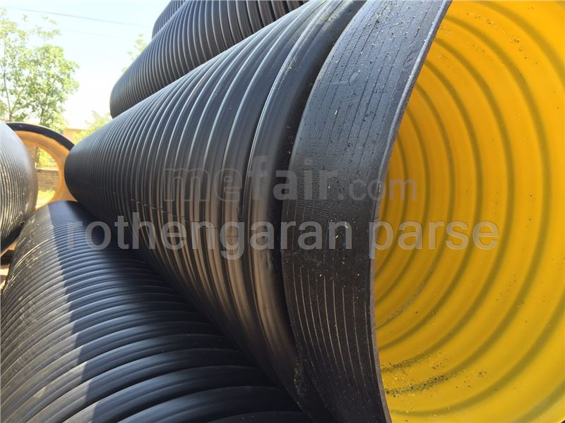 Corrugate double-wall pipe(400 mm)
