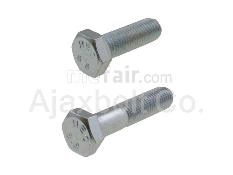 Galvanized 8.8 hex bolts