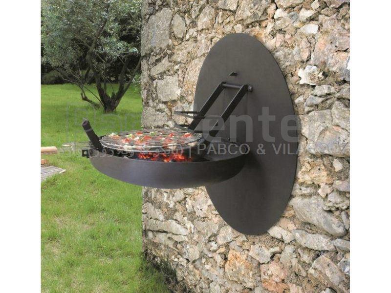 کباب پز ذغالی دیواری مارتا