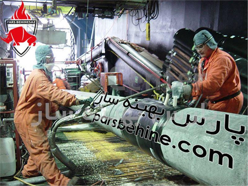 عایق حرارتی پلی یورتان در صنعتنفت و گازو پتروشیمی