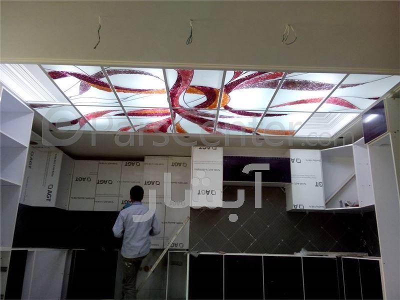 سقف شیشه ای - محصولات سقف کاذب در پارس سنترسقف شیشه ای ...
