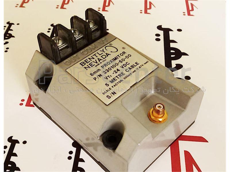 فروش سنسور مجاورتی یا پراکسیمیتی ارتعاش سنج 5 متری بنتلی نوادا 00-50-330100 Bently Nevada Proximity