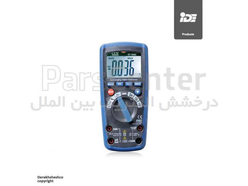 مولتی متر دیجیتال مدل DT9960 کمپانی سی ای ام | CEM
