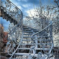 پله گرد دوبلکس