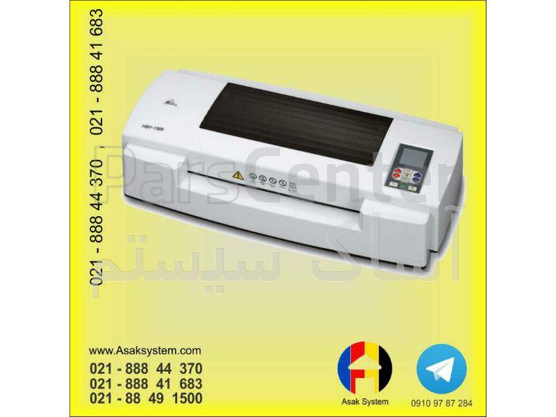 دستگاه لمینیتور گرم و سرد A3 شش غلطکه کاملا حرفه ای HSH-1300 کره ای