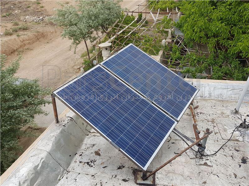 برق خورشیدی خانگی 1500 وات
