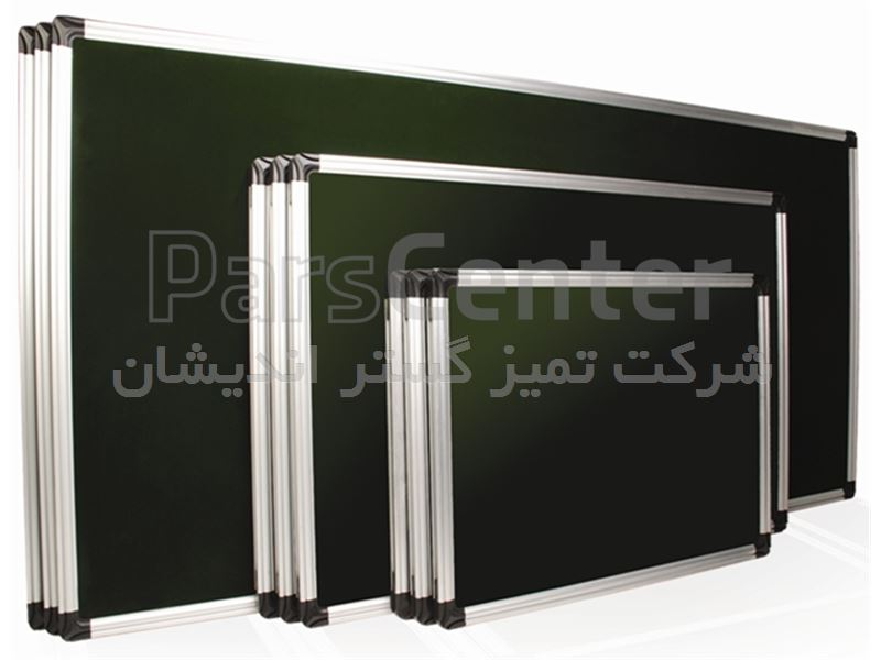 تابلو اعلانات ساده فرم آلومینیوم سایز 90 * 60