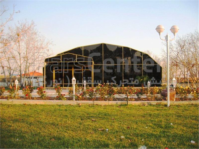 پوشش تالارباغ 6 ضلعی ثابت - تهران جاده مخصوص کرج