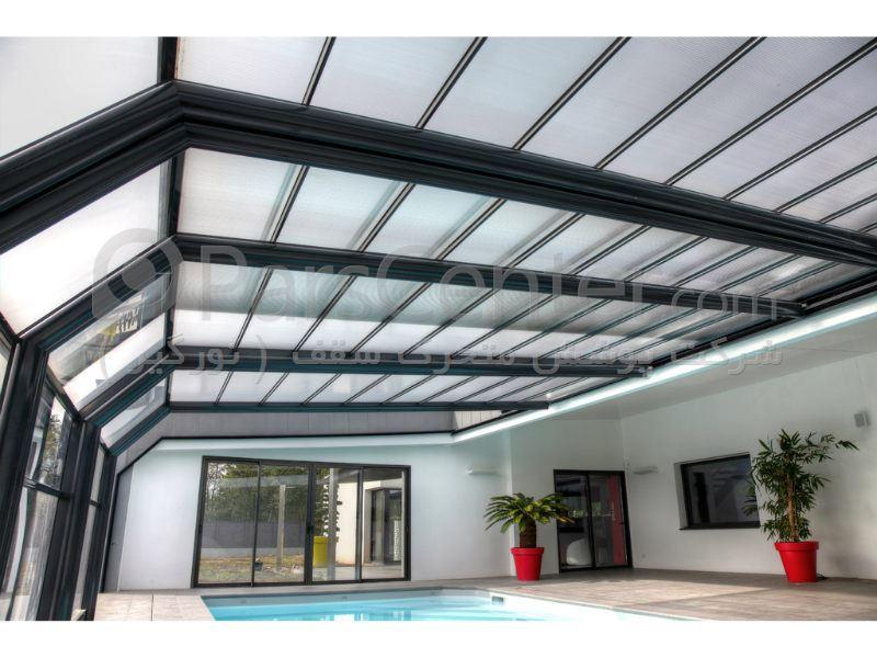پوشش سقف استخر مدل L
