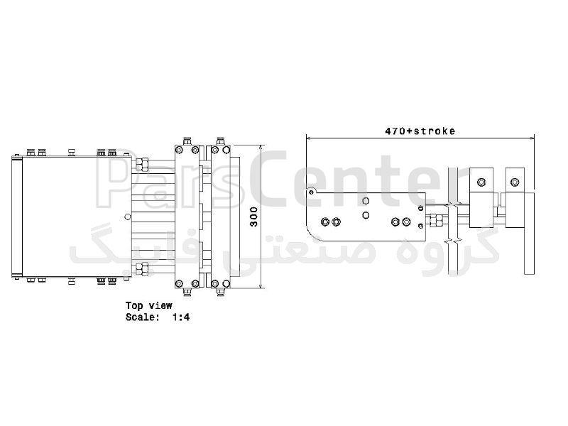 فیدر پنوماتیک سری G مدل GU