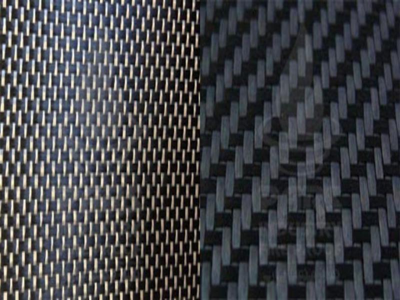 Fiberglass and carbon fabric