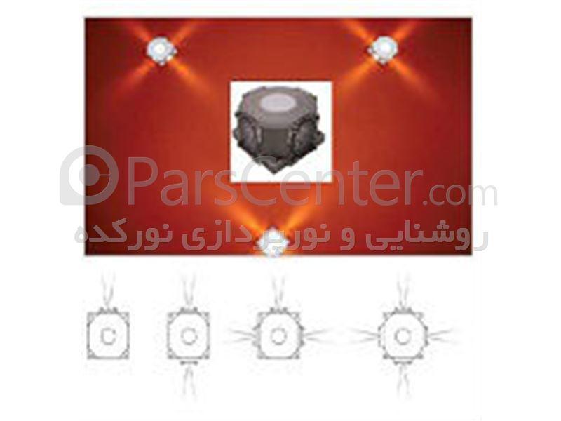 دیوارکوب led  و چراغ نمای led
