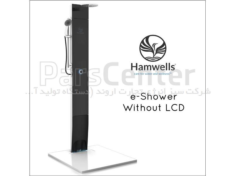 دوش حمام بدون صفحه نمایش