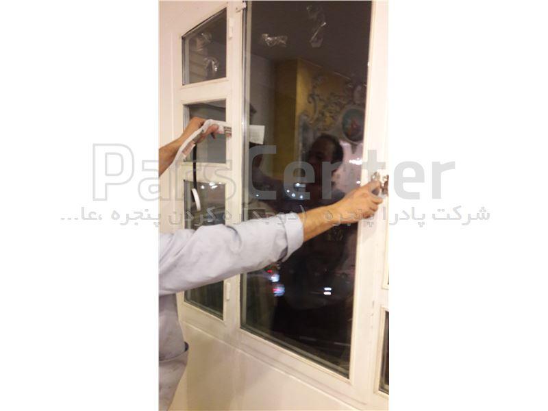 درزگیری و عایق بندی پنجره آهنی قدیمی DAPE1