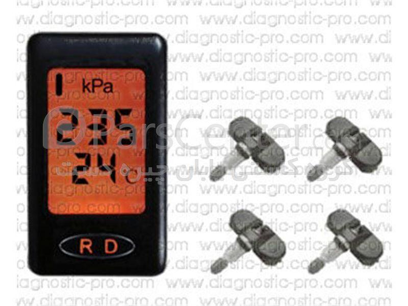 سامانۀ پایش و نمایش فشار و دمای باد چرخ خودرو TPMS