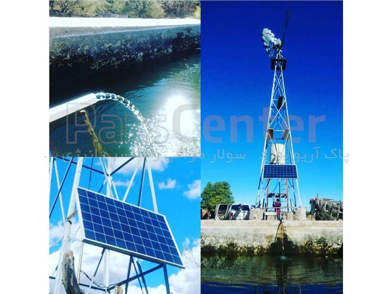 پمپ آب خورشیدی مدل QDX1.5-25-0.55FH