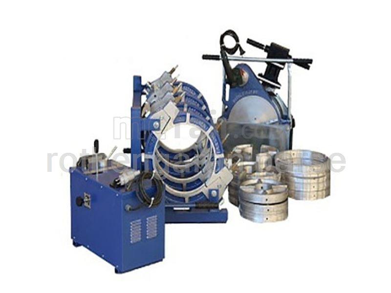Full-hydraulic PE welding 630
