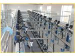 Rubber twin tube for milking machine