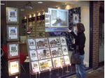 تلویزیون شیشه ای برای شیشه فروشگاه شما