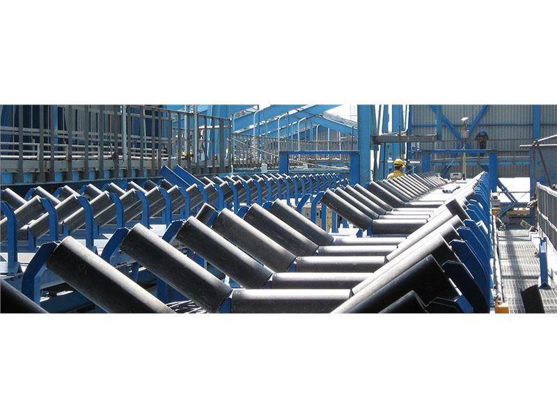 گروه صنعتی معدندار  ساخت دستگاه کانوایر - حمل مواد و تجهیزات آن