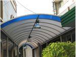 پوشش سقف پارکینگ با ورق پلی کربنات PS PK5