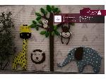 زیبا سازی و دکور سازی نمای مهد کودک ترنم با تم حیوانات