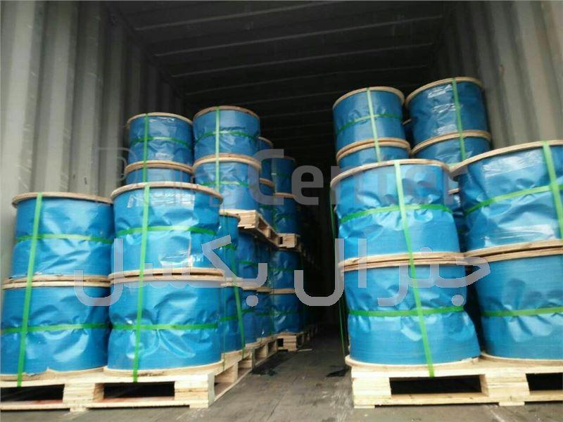 فروش سیم بکسل قرقره ای عمده فولادی و استیل