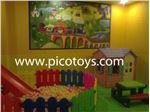 تجهیز اتاق بازی کودک درهتل 5 ستاره مشهد با محصولات پیکو