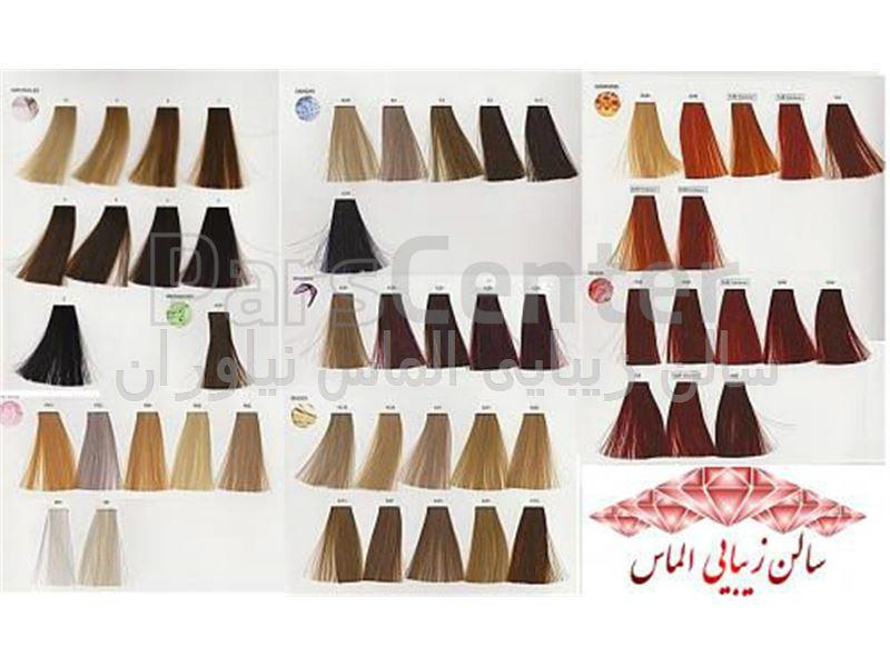 خدمات رنگ و مش در سالن زیبایی الماس نیاوران با قیمت مناسب