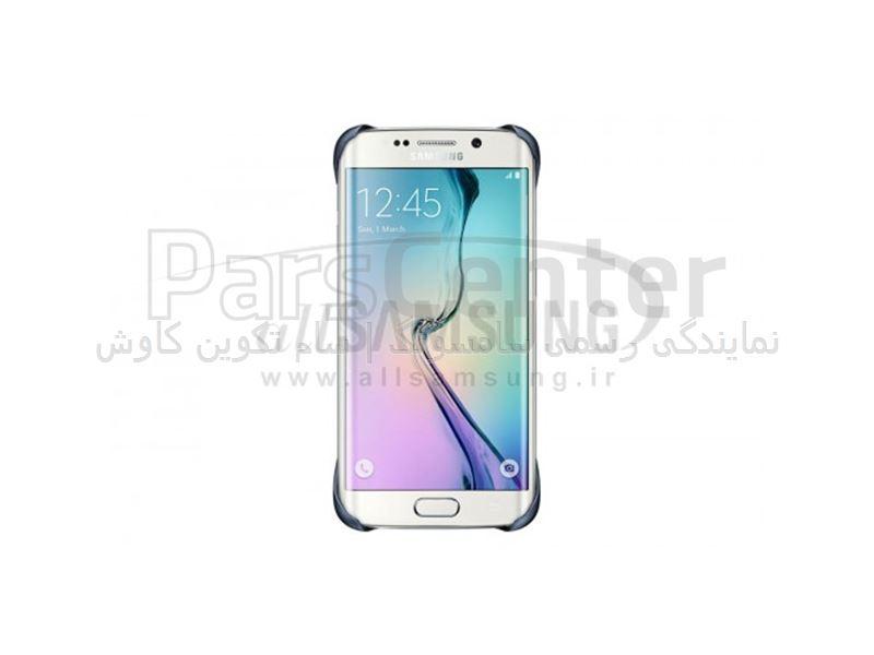 Samsung Galaxy S6 Edge Protective Cover Black پروتکتیو کاور مشکی گلکسی اس 6 اج سامسونگ