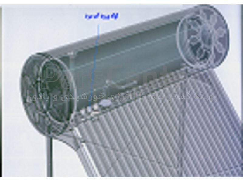 لوله ورود آب سرد در آبگرمکن خورشیدی هوشمند