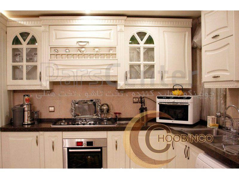 کابینت آشپزخانه و مصنوعات ام دی اف کمجا چوبینکو - مدل k04