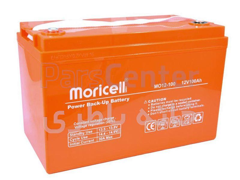 باتری خورشیدی 12 ولت 100 آمپر