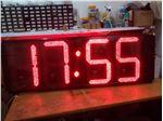 ساعت دیجیتال LED در ابعاد 40 در 100 سانتیمتر