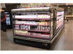 یخچال نیمه ایستاده روباز فروشگاهی،یخچال پرده هوا