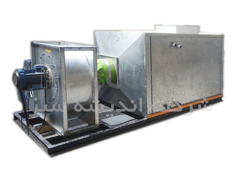 هواساز ایرواشر مخصوص سالن  پرورش قارچ خوراکی