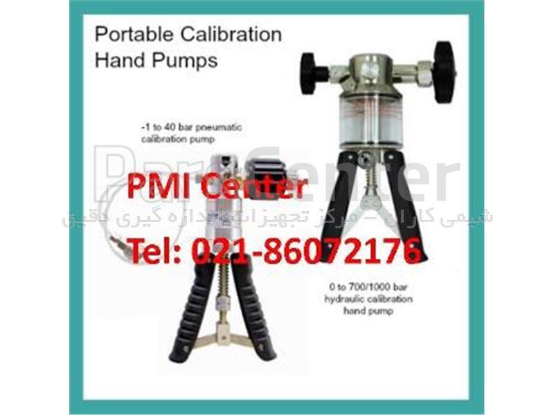 هند پمپ فشار (پمپ دستی فشار) کالیبراسیون گیج  فشار  پنوماتیک 25 بار Pressure Hand Pump