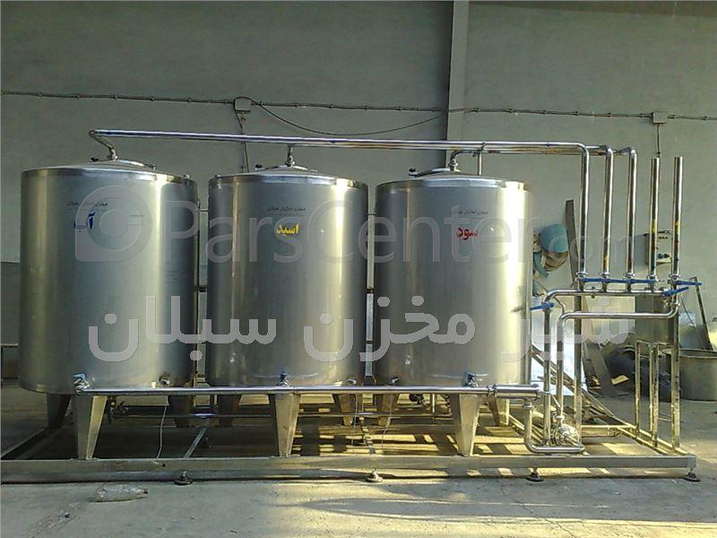 ساخت مخازن استیل  شیرمخزن سبلان